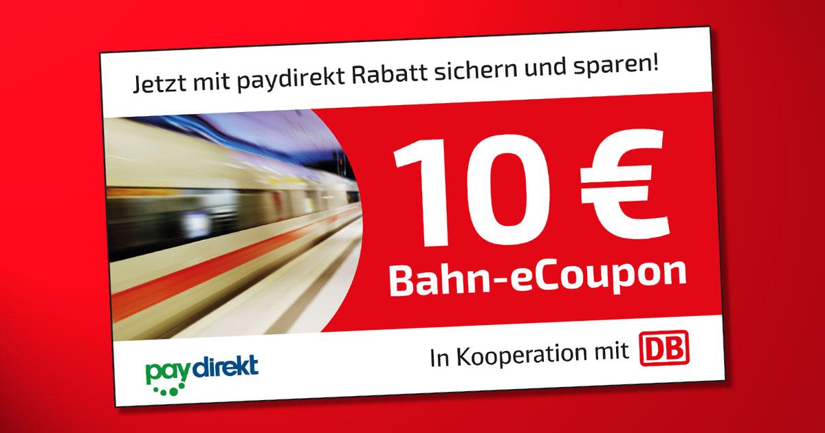 E Coupon Deutsche Bahn
